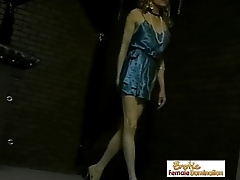 Crossdresser Captured And Dominated At the end of one's tether Three Mistresses