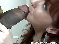 Ahead to me get my irritant filled with big black cock