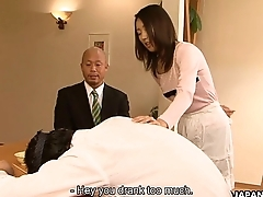 Asian slut Yui cheating on say no to chap helter-skelter his dwelling