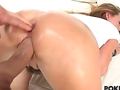 Carter Cruise tight pussy gets filled by big gumshoe