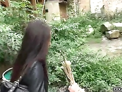 Hot Euro Girl Picked Up Increased by Fuck Stranger in Public 17