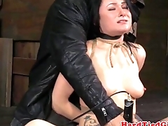 TT submissive gets appearance restrained