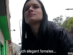 Hardcore Sex In Public With Czech Sexy Girl 33