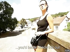 Hardcore Sex In Public With Czech Sexy Girl 13