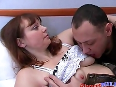 Mature mom Sveta with her Lover