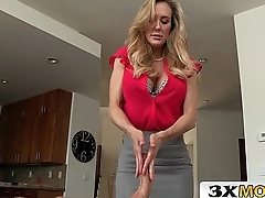 Stepmom And Teen Step Daughter FFM Handjob - Brandi Love, Taylor Whyte