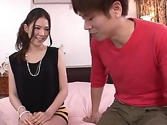Kei Akanishi fucked and made to swallow warm jizz