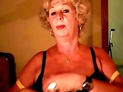 Gorgeous granny shows say no to surprising boobs on cam. See more at 747cams.com