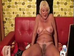 Horny granny plays with regard to milk. See more at 747cams.com