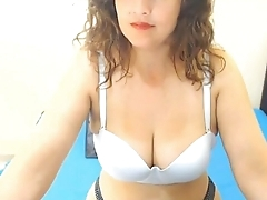 Hot milf with gorgeous boobs repartee on cam. More at 747cams.com