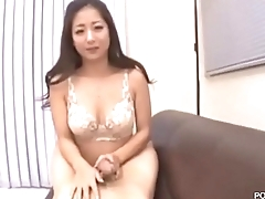 Big soul Asian Pornstar Satomi Suzuki uncensored awesome titjobs
