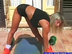 Bikini Babes In Hot Workout