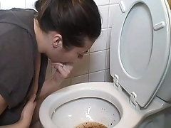 Brunette Puking Vomit Spiff one's biscuits Vomiting Gagging Pukes