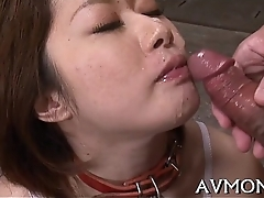 Pretty female parent loves her mouth chiefly jock
