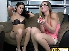 Crazy Party Hot Girls Get Fixed Publicize Banged In Orchestrate clip-21