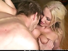 Big Titted Babe Gets Fucked Permanent in the Office 14