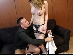Big Titted Babe Gets Fucked Immutable in the Office 18
