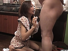 Farmer girl masturbates and sucks her uncle