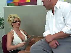 Hot Busty Cougar From ExposedCougars.com Gets It Good in Assignment
