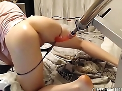 Girls4cock.com ***Horny Young Teen Fucked By A Huge Machine &mdash_ Girls4cock.com ***