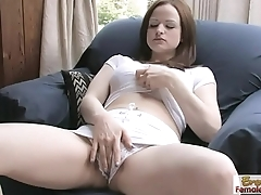 Hard Be thrilled by Session With Janessa And Her Dildo