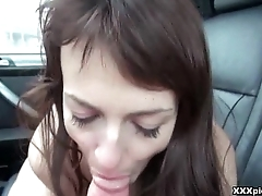 Nasty Euro Slut Pickeed Up With the addition of Fucked In Public 16