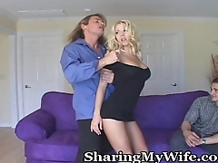 Rousing Sex Romp For Oversexed Wife