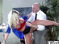 Worker Girl With Big Tits Get Nailed Hard Almost Office movie-26