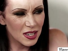 MILF Rayveness and adorable Jenna appreciates pussy command