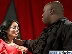 Interracial Sex With Nasty Housewife Riding Big Black Dick movie-10