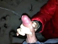 Wife focus on blowjob handjob autodoor , amateur couple