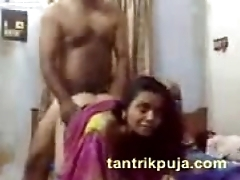 desi wife painful doggystyle roger with jeethji and cum in excess of her mouth
