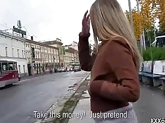 Sexy Czech Amateur Teen Picked Up And Suck Cock 35