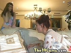 Sexy Mom Has Fun with Young Blonde Babe, Porn 2d: