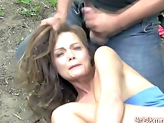 Sex slave nailed in the woods