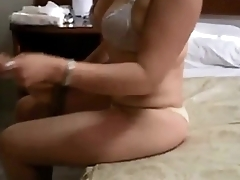 Wife anal creampie on real homemade