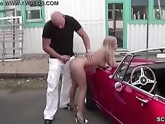 Infinitesimal Whore Fuck Outdoor by Stranger for Money in Germany